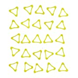 Senna Low Profile Golf Tee for Irons Hybrids Yellow 50 Pack