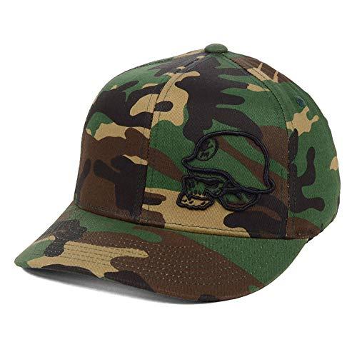 Metal Mulisha Logo Mens Hat - Metal Mulisha Men's Staple Flexfit Hat Camo Green S/M