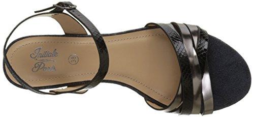 Initiale Savana - Zapatos Mujer Noir (Noir)