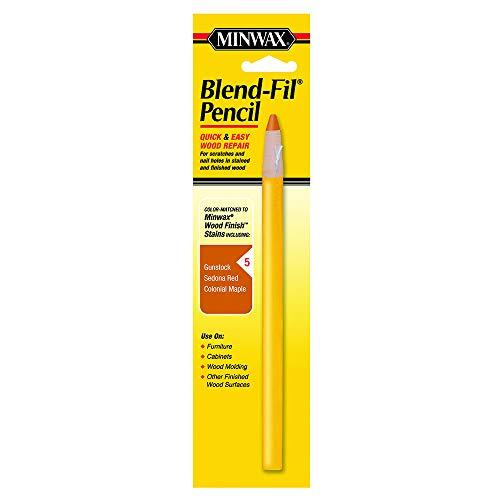 Maple Colonial Stain (Minwax 110056666 N0 5 Blend-Fil Wood Repair Stain Pencil, Colonial Maple)