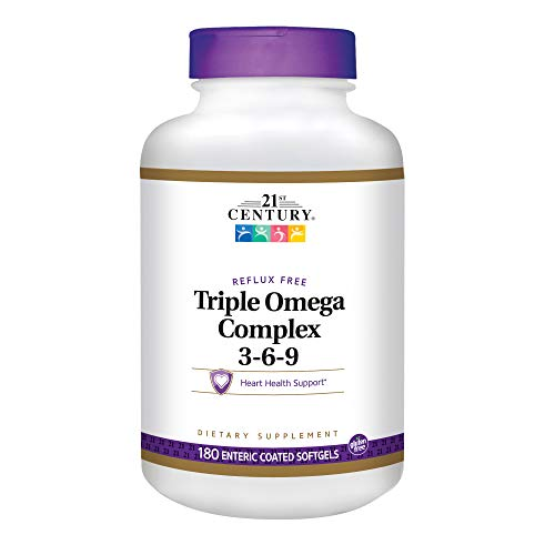 21st Century Triple Omega Complex 3 6 9 Enteric Coated Softg