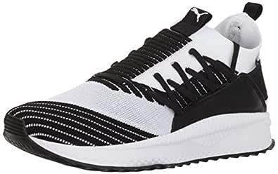 PUMA Women's Tsugi JUN WN's Sneaker, White Black, 5.5 M US