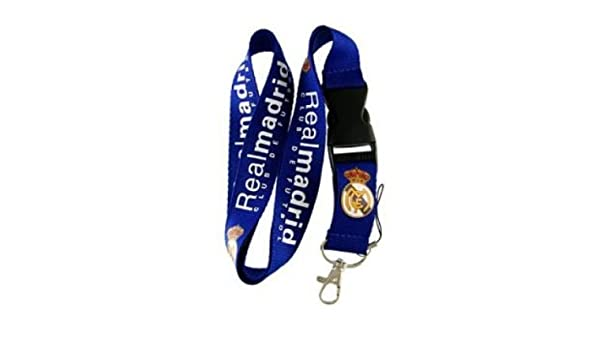 Real Madrid Llavero Lanyard: Amazon.es: Coche y moto