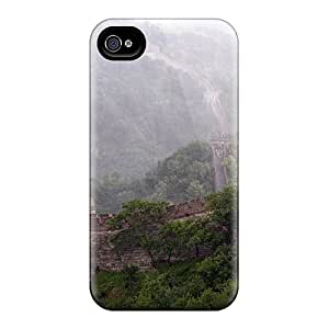 Durable Protector Case Cover With Great Wall Hot Design For Iphone 4/4s