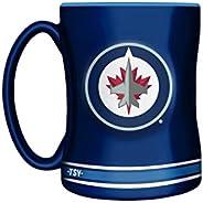 NHL Winnipeg Jets Sculpted Mug, 14-Ounce