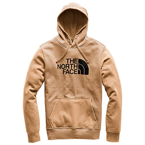 The North Face Men's Half Dome Pullover Hoodie - Cargo Khaki Heather & TNF Black - ()