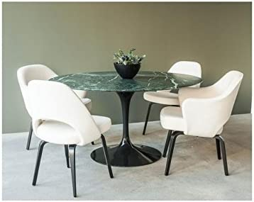 Mesa redonda TULIP Eero Saarinen - diámetro 120 cm, tablero de ...