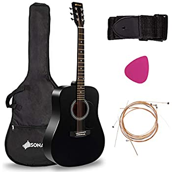 Amazon Com Best Choice Products 41in Full Size All Wood Acoustic