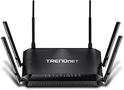 Trendnet Ac3200 Gigabit Tri-band Wi-fi Router, Dd-wrt Compatible, Tri-band, Smart Connect, 1ghz Dual Core Processor, Vpn, Tew-828dru