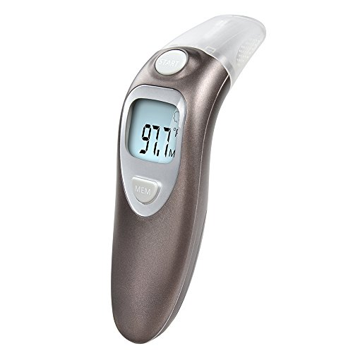 Elera Forehead and Ear Thermometer Clinical Infrared Thermometer for Baby & Adults