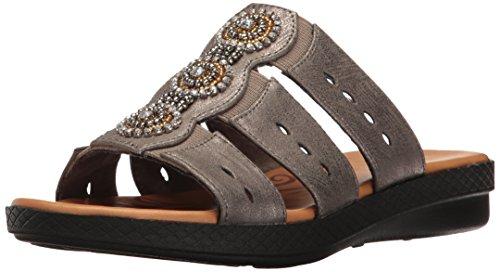 Street Sandale Nori Easy Metallic Kunstleder Pewter Za8w7qW