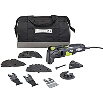 Rockwell RK5132K 3.5 Amp Sonicrafter F30 Oscillating Multi-Tool with 30 Accessories and Carry Bag