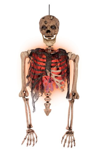 [Zombie Torso with Blister Chest] (Skeleton Costume Pose)