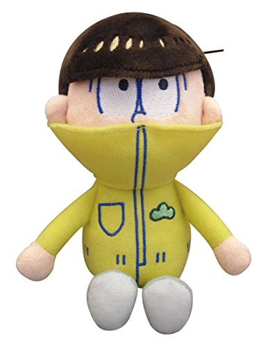 Japan Stuffed Toys - Osomatsu's Beans stuffed fourteen pine sitting height about 14cm *AF27*