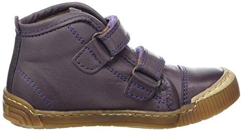 Bisgaard Klettschuhe - Zapatilla Alta Unisex Niños Violett (5000-1 Purple)