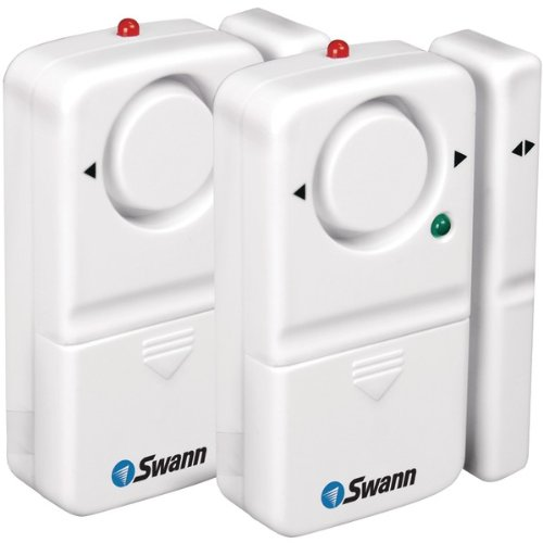 "Swann Complete Window & Door Magnetic Alarm Kit (2 Pk) ""Product Category: Surveillance System Accessories/Security Accessories"""