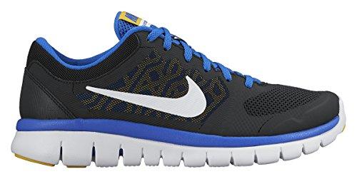 Nike Flex Course Pour Hyper 2015 gs Run Chaussures Fille Varsity Noir Maize De Cobalt Blanc 007 noir qq1Rrxn