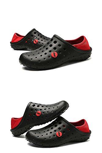 de pour Chaussures Marche Unisexe à Chaussures Pieds de Non Chaussettes Séchage Doux Respirant Maille Glissement Nus Plongée Léger Rapide de Noir Chaussures L'eau nZxqTROFww