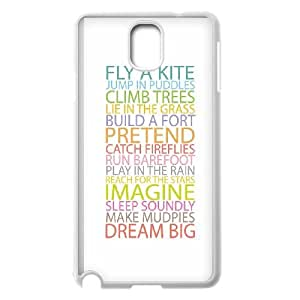 Samsung Galaxy Note 3 Cell Phone Case White quotes simple color life advices SUX_033011