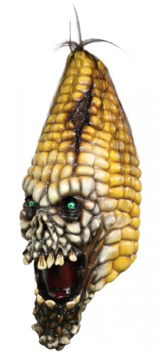 Mask Head Pumpkin Evil Corn