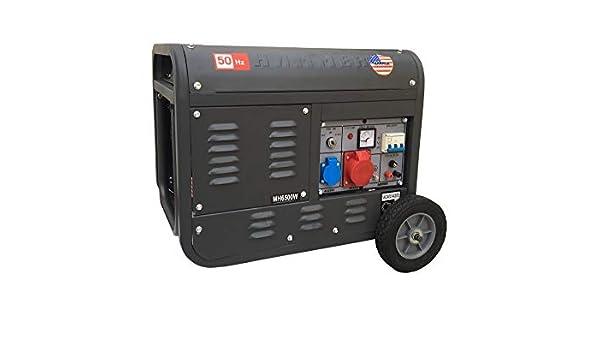 Grupo electrógeno/Generador de corriente 3100 W - 220/380 V arranque ...