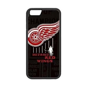 Custom Unique Design NHL Detroit Red Wings Iphone 5C Silicone Case