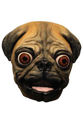Happy Pug Adult Mask - ST ()