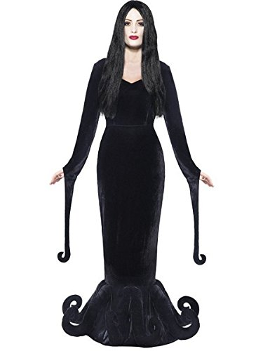 Smiffy's Women's Duchess of the Manor Costume, Full Length Dress and Hem Detail, Gothic Manor, Halloween, Size 14-16, 24419 (Manor Halloween)
