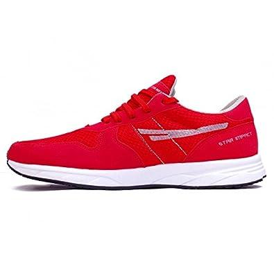 4d16f8214b0c2 SEGA Red Marathon Running Shoes