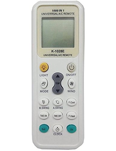 VRCT Universal Ac Remote, Compatible with Lg Hitachi Daikin Onida Ogeneral  Llyod Carrier Voltas and Almost All Brand of Air Conditioner with Twin