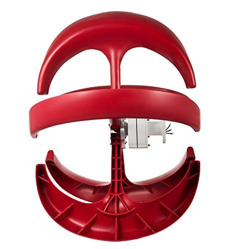 Happybuy Wind Turbine 400W 12V Wind Turbine Generator Red Lantern Vertical Wind Generator 5 Leaves Wind Turbine Kit with Controller No Pole by Happybuy (Image #3)