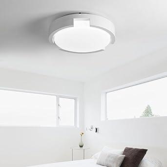 Attraktiv ZHUDJ Deckenleuchte Schlafzimmer Rund Um Moderne Zimmer Lampe Schlafzimmer  Lampe, Weiss Durchmesser 55 Cm Trichromatischen
