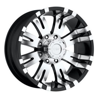 8101-7982 - Pro Comp Xtreme Alloy 8101 8101-7982 Gloss Black Finish Aluminum Wheel - 17 in. Wheel Diameter X 9 in. Wheel Width, 8 x 6.5 in. Bolt Pattern Bolt -