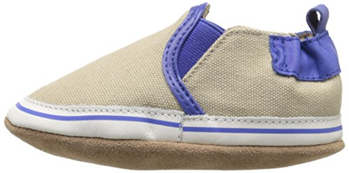 Robeez Liam Soft Sole Crib Shoe (Infant), Taupe, 6-12 Months M US by Robeez (Image #5)