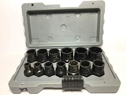 Maximum Impact Bolt & Nut Remover Set 13 pieces ()