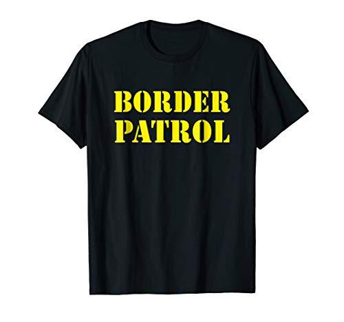US Border Patrol Halloween Costume Immigration ICE Shirt
