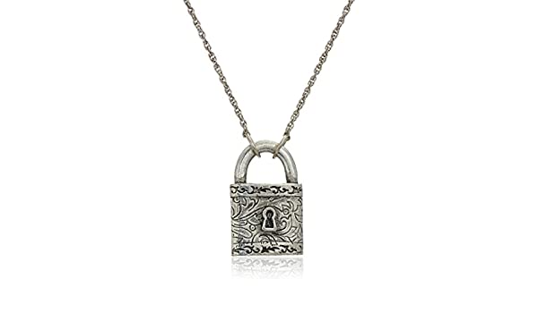 Jewels Obsession I Love Dallas Necklace 14K Rose Gold-plated 925 Silver I Love Dallas Pendant with 16 Necklace