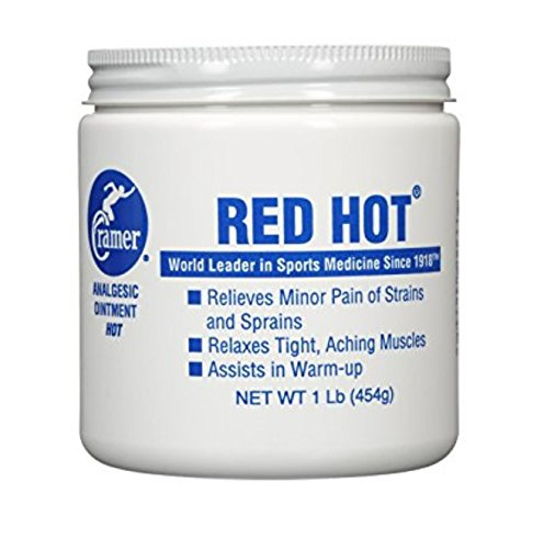 Cramer Red Hot Ointment for Muscle & Joint Pain Relief & Sore Muscles, Penetrating Warming Heat Therapy Cream for Warm-Up, Recovery, Athletes, Athletic Trainers, Arthritis, (Recovery Rub)