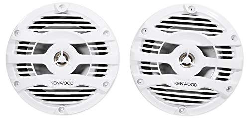 Kenwood KFC-1653MRW 6.5' 2-Way Marine Speakers Pair (White)