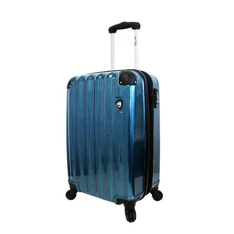 mia-toro-spazzolato-lucido-hardside-spinner-carry-on-blue-one-size