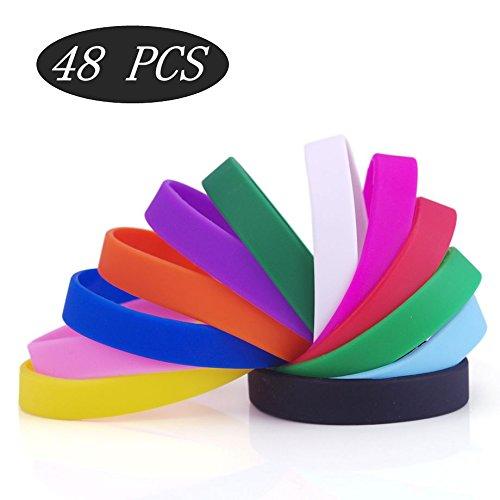 GOGO Silicone Bracelets Assorted Wristbands product image