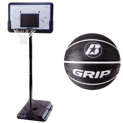 Basketball Hoop and Ball (Lifetime 44 Acrylic Portable Basketball Hoop)