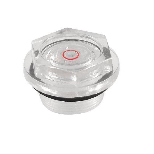 DealMux Compressor de ar 27 milímetros diâmetro da rosca de plástico transparente Oil Nível visor - - Amazon.com
