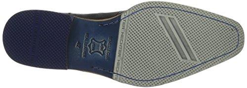 Daniel Hechter 812228021000, Zapatos de Cordones Derby para Hombre Schwarz (Schwarz 1000)