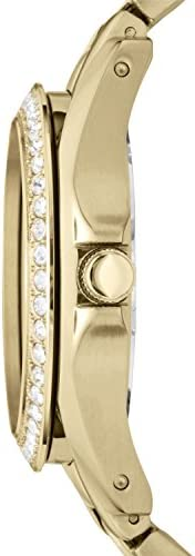 Fossil Women s Riley Stainless Steel Multifunction Glitz Quartz Watch