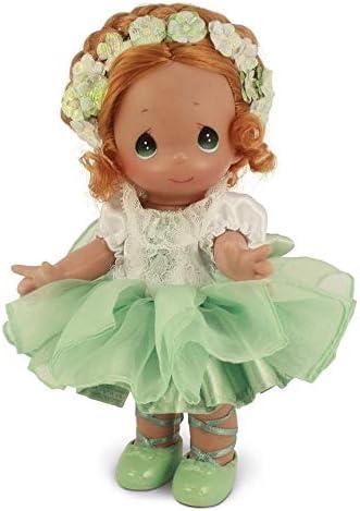 """Precious Moments 9"""" Prima Ballerina Auburn Doll"""