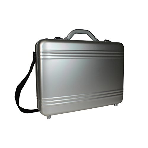 World Traveler European-Style Aluminum Attache Case Laptop B