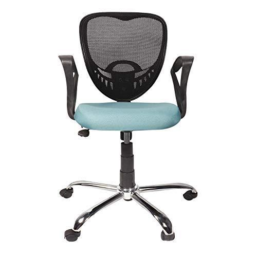 Vizolt Chair Arm Rest Office Chair  Fabric, Green, 1 Piece