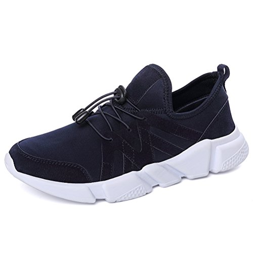 Running Shoes for Men Mens Sneaker Fashion Sports Outdoor Athletic Shoes Trainer Shoe Blue