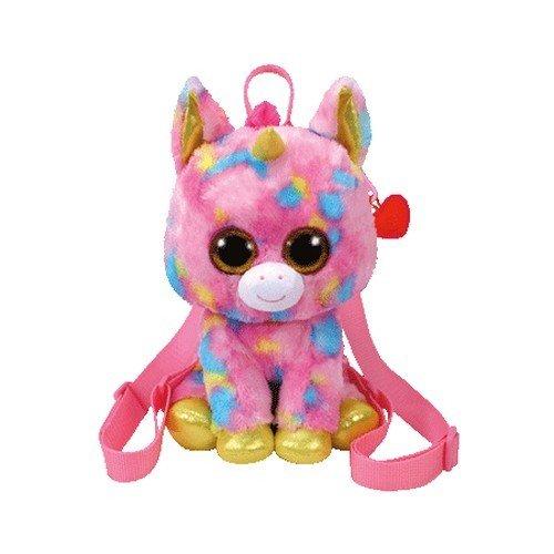 Ty Gear Backpack   Fantasia The Rainbow Unicorn  13 Inch